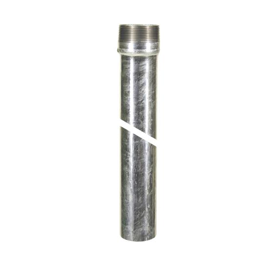 LORO X Rohr mit 2 Muffen DN40 750 mm