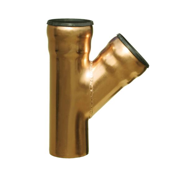 Loro copper branch 45 degree dn 70/70