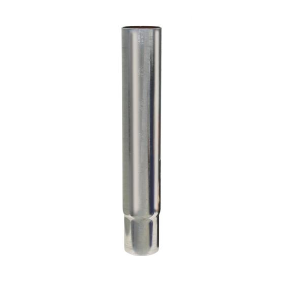 Loro-x pijp met ingehaald spie-eind 500mm dn 70 - 1121X