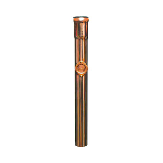 Loro copper standpipe with cleanout, 1000 mm dn 70