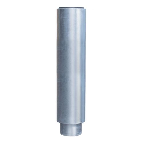 Loro-x dubbelwandige pijp met 1 sok 500 mm dn 70 58013X