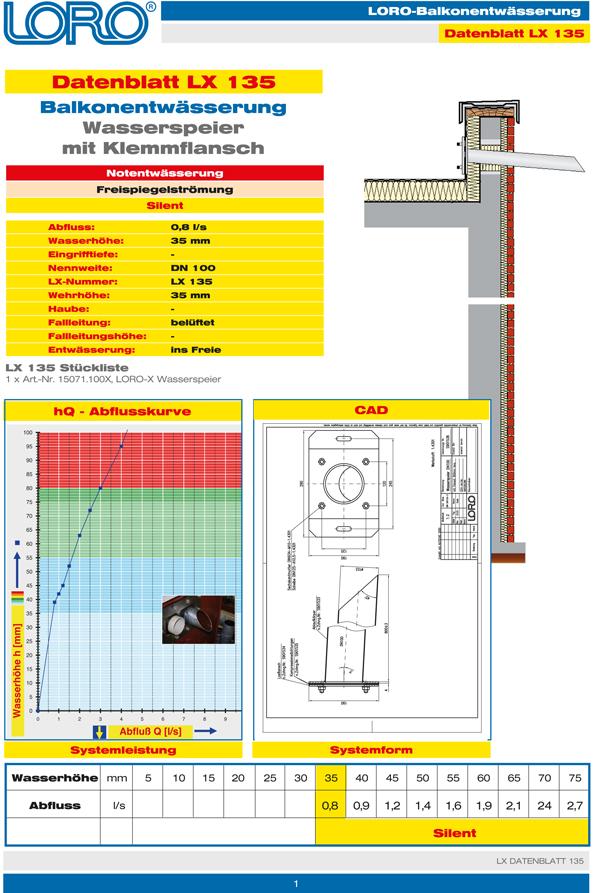 Datenblatt Lx 135